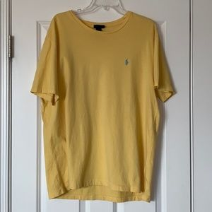 Polo by Ralph Lauren Golden Yellow T-Shirt, Large